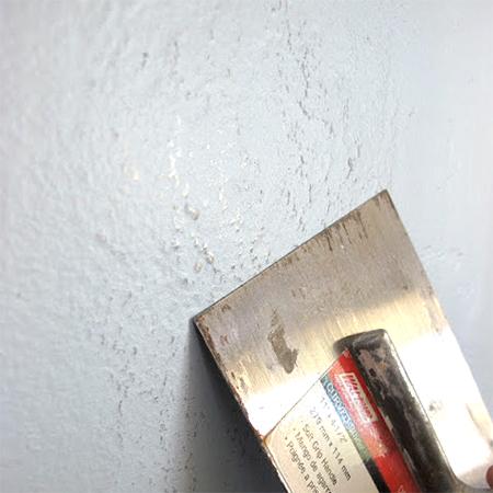 Bumpy Painted Walls