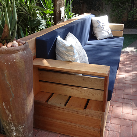 Making Upholstered Cushions For Outdoor Sofa
