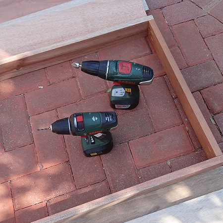 diy how to make outdoor patio furniture back frame