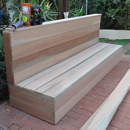 Diy Wood Patio Furniture. Diy How To Make Outdoor Patio Furniture Wood