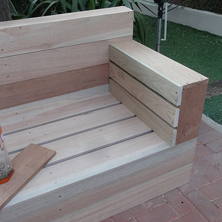 HOME DZINE Home DIY | DIY wood patio furniture