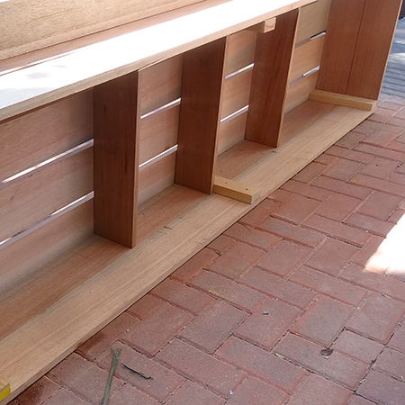 diy how to make outdoor patio furniture base supports
