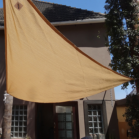 Home Dzine Garden How Not To Fit A Shade Sail