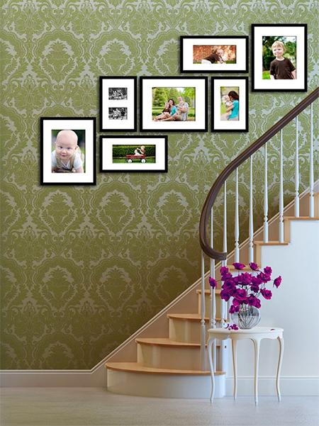 HOME DZINE Home Decor   Creative ways to display your family photos