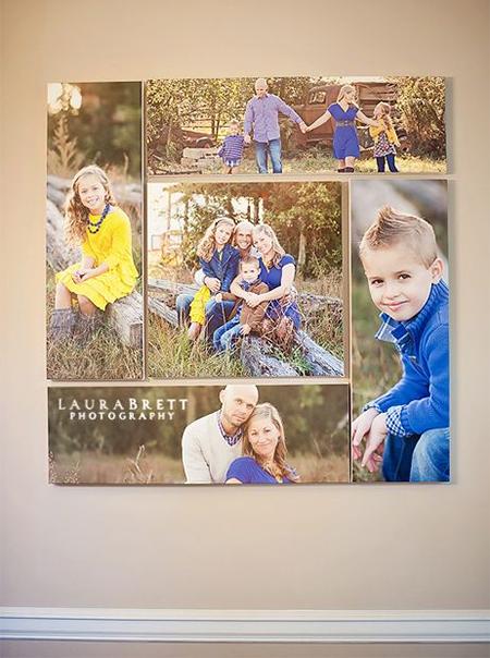 HOME DZINE Home Decor | Creative ways to display your family