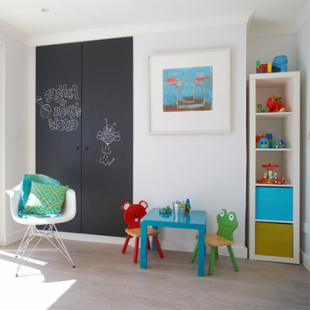 Family home that's filled with colour playroom