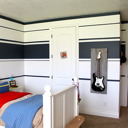 modern bedroom for boys. Before And After Teen Boys Bedroom Makeover Modern For H