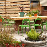Transform a plain patio into a stunning space