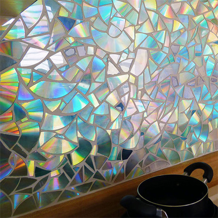 Home Dzine Craft Ideas Recycle Cd S Into A Gorgeous