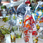 Recycle glass food jars