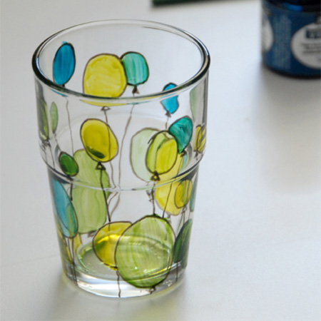 Home dzine craft ideas decorate with glass stain for Paint you can use on glass