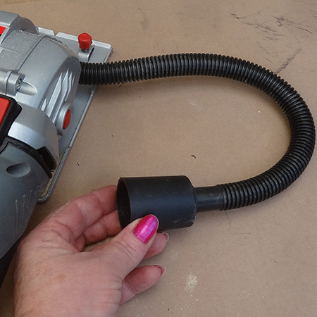 skil 5330 aa multi saw dust hose attachment