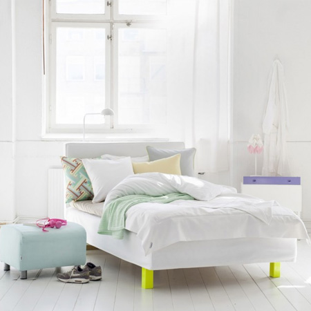 If your home needs a pop or two of colour... go fluorescent!