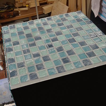 Home Dzine Garden Ideas Mosaic Planter Or Water Feature
