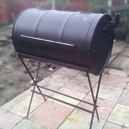 How to make your own braai or smoker - no welding required