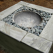 Build a concrete firepit