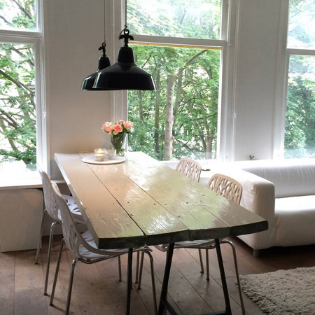 reclaimed timber wood dining table ideas