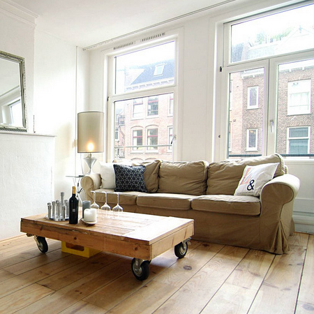 reclaimed timber wood coffee table with wheels ideas
