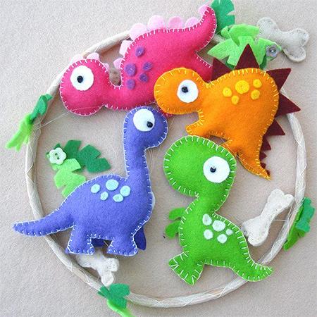 Home Dzine Craft Ideas Ideas For Felt Nursery Mobile