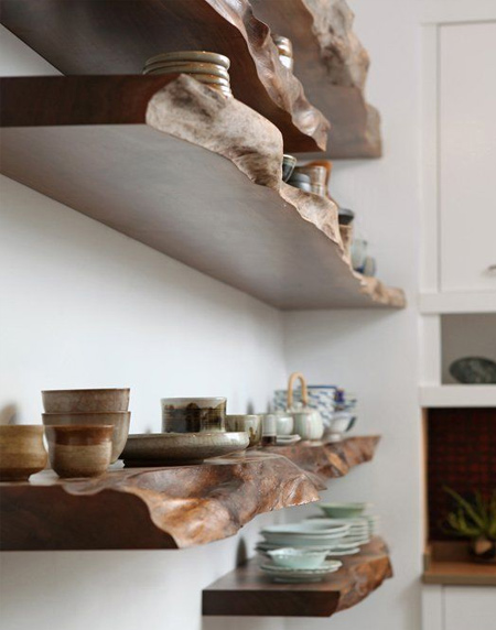 Easy wood shelf ideas that you can DIY