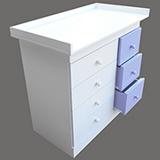Refurbish laminate or melamine furniture