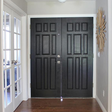 Easy and affordable remodelling ideas feature doors
