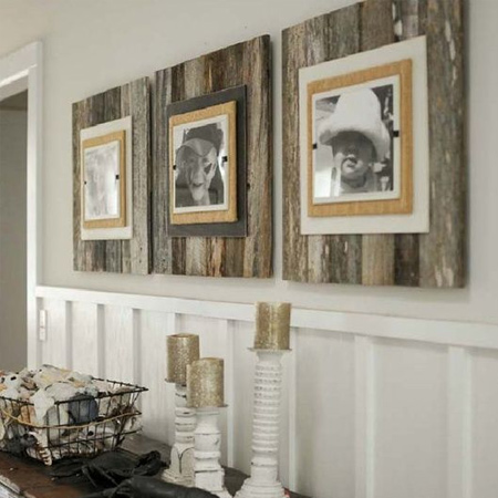 Easy and affordable remodelling ideas feature wall with art