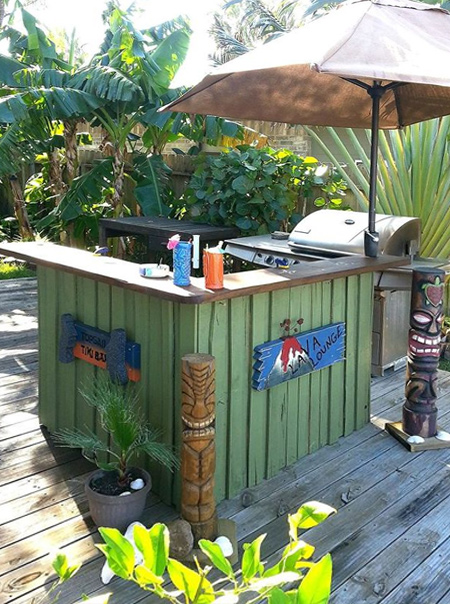 HOME DZINE Garden Ideas DIY Outdoor Bar
