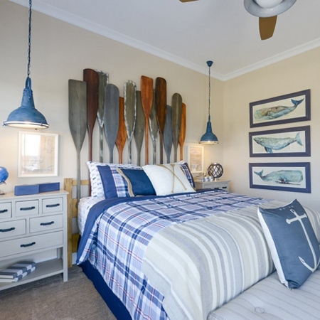 ideas decorating with blue for coastal bedroom