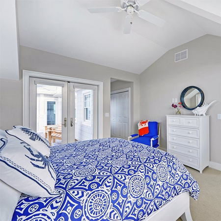 ideas decorating with shades of blue for bedroom