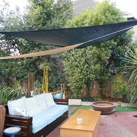 How to make your own shade sail