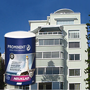 High performance exterior coating with 15 year guarantee