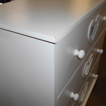 white distressed furniture chest of drawers