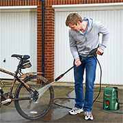 Spoil yourself with a high-pressure washer