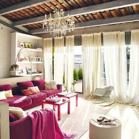 A Flood Of Natural Light Over Colorful Furniture Sure Is A Pleasant Sight!