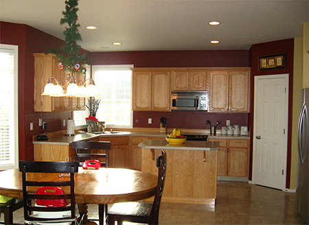 HOME DZINE Kitchen | Tips for painting kitchen cabinets