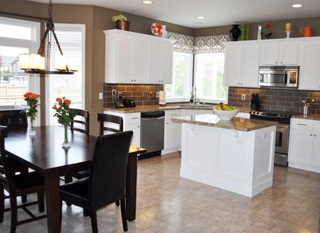 HOME DZINE Kitchen Tips For Painting Kitchen Cabinets - Best product for painting kitchen cabinets