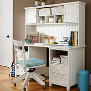 Make a hutch desk for a child's bedroom