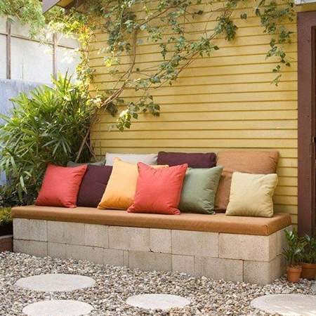 easy diy garden bench