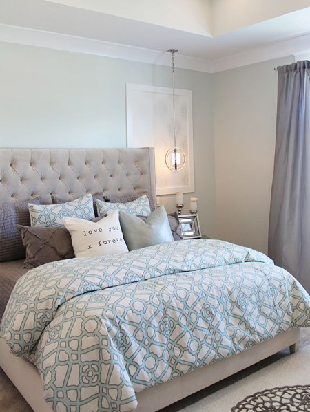 guest bedrooms Consider also that you need to leave some space for a bedside pedestal - or two - and a place to store personal items
