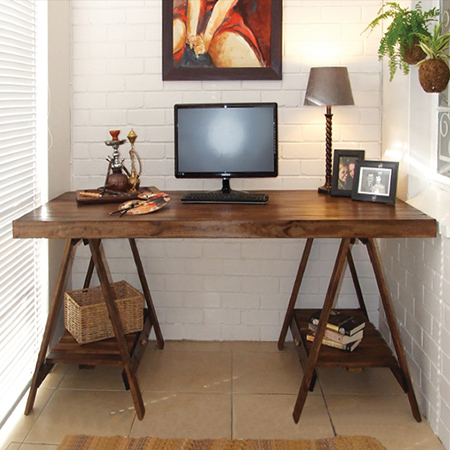 How To Make A Trestle Desk