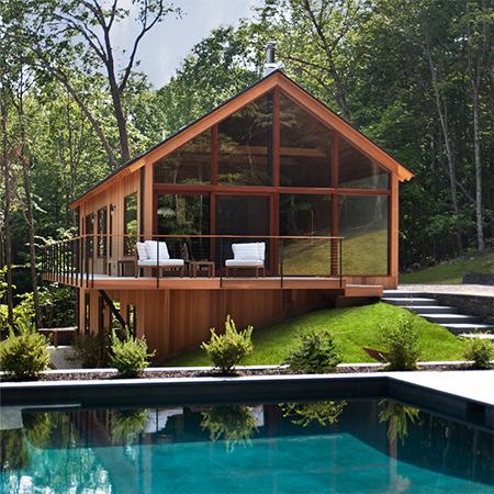 Home Dzine Home Decor Naturally Modern Wood Homes