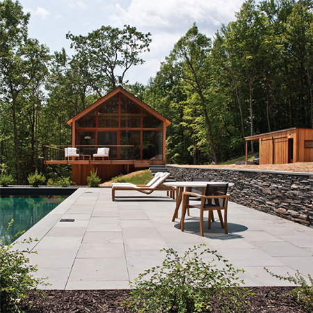 Naturally modern wood homes