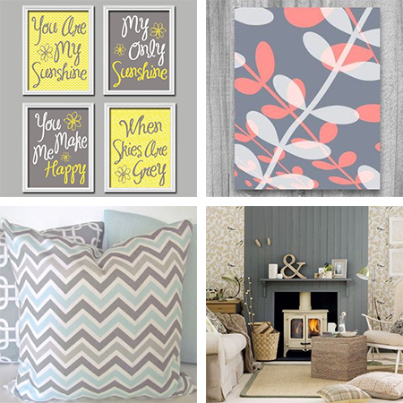 Home dzine home decor 50 shades of grey Grey home decor pinterest