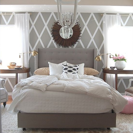 50 shades of grey upholstered headboard