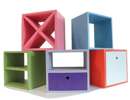 Incroyable Make Diy Colourful Storage Cubes With Laminated Pine And Rustoleum 2x Spray  Paint