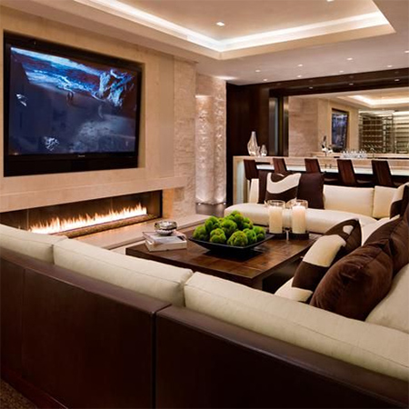 Home Theater Media Or Entertainment Room Setting Up A E