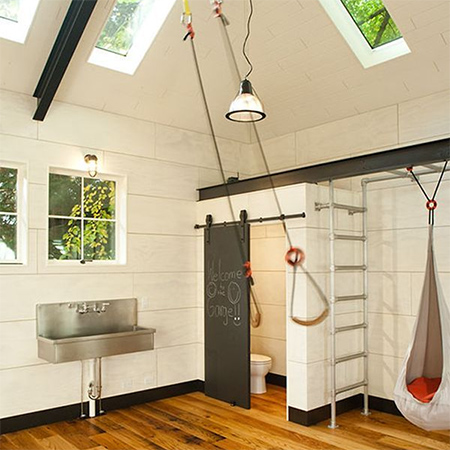 Ideas for a garage conversion childrens playroom