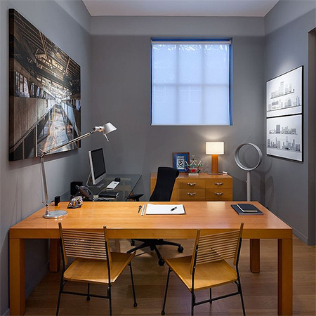 Ideas for a garage conversion home office