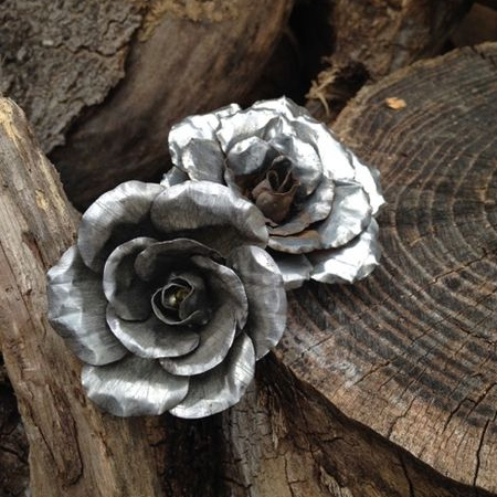 recycle aluminium cans into everlasting tin can roses